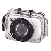 "Trevi Go 2200 HD Sports Action Camera White 720P 1.3MP 2"" Touchscreen"