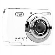 Trevi DC 2310 5MP Digital Camera USB microSD White