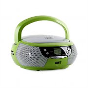 Trevi CMP 532 CD Player USB AM/FM Radio AUX Green
