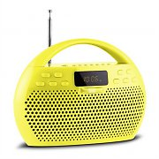 Trevi KB 308 BT Radio Digital Boombox Bluetooth USB microSD Yellow