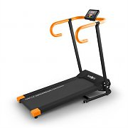 Klarfit Pacemaker X1 Treadmill 10 km/h Training Computer Black Orange