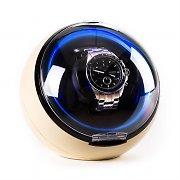 Klarstein St.Gallen Deux Watch Winder 4 Modes LED - Cream