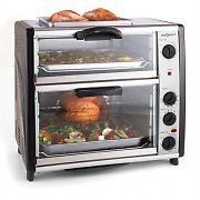 oneConcept All-You-Can-Eat Double Oven With Grill 42-Litre Total
