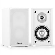 Auna Line 300-SF-WH Bookshelf Speakers 70W RMS Passive White