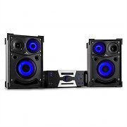 Malone Hotrod 2000 Party CD Stereo System Speaker Pair 1800W Bluetooth HDMI