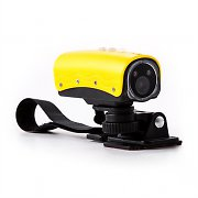 oneConcept Stealthcam 2G Sport Camera HD 1080p 15MP Yellow