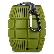 oneConcept Grenadier Portable Bluetooth Speaker Green