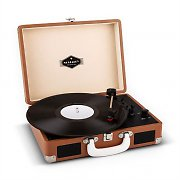 Auna Peggy Sue Retro Turntable LP USB Brown