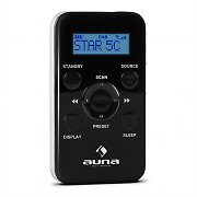 Auna DABPod Portable DAB Radio Black
