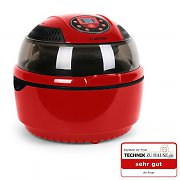 Klarstein VitAir Hot Air Fryer Grill Bake 1400W 9L Red