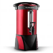 Klarstein Big-Bacchus Hot Drink Kettle Urn 8.8LStainless Steel Red Portable