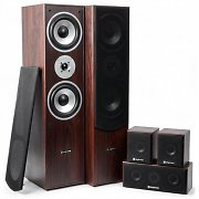 Skytronic 5.0 Home Cinema System Walnut Finish 335W RMS