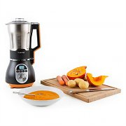 Klarstein Soup Chef Soup Maker Stainless Steel 900W 1.75l 100 Degrees Orange
