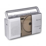 Soundmaster RCD1150 Portable Radio AM / FM CD Silver