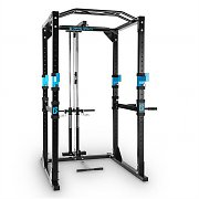 Capital Sports Tremendour Plus Power Rack Home Gym Lat Pulldown Steel
