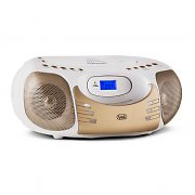 Trevi CMP 570 BT Portable Bluetooth Boombox Stereo USB AUX White