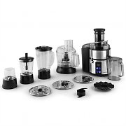 Klarstein The Food Father IV Juicer Food Processor 800W 10-Piece Stainless Steel