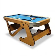 "Riley RPT-6F Super Size 6'6"" Foldable Pool Table"