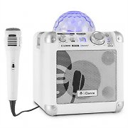 iDance Party Cube BC10 Bluetooth Sound System and LED Lighting Effect 50W