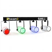 Beamz 4-Some Clear Light Set LED RGBW DMX Microphone