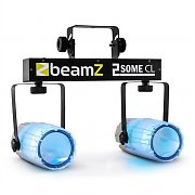Beamz 2-Some Clear Light Set RGBAW-LED Microphone