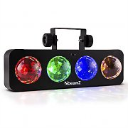 Beamz DJ Bank BX Party Light Effect 4 x RGBA LED Remote Control Black