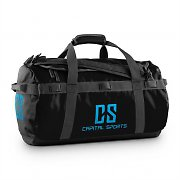 Capital Sports Travel S Sport Bag 45L Duffle Backpack Waterproof Black