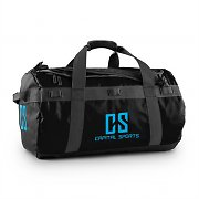 Capital Sports Travel M Sport Bag 60L Duffle Backpack Waterproof Black