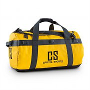 Capital Sports Travel M Sport Bag 60L Duffle Backpack Waterproof Yellow