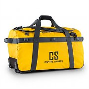 Capital Sports Large Travel Bag 90L Backpack Trolley Waterproof Yellow