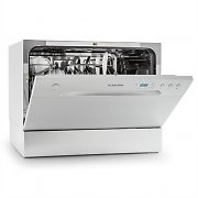 Klarstein Amazonia 6 Table Dishwasher A+ 1380W 6 Place Settings 49 dB Silver