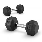 Capital Sports Hexbell Pair of Dumbbells 15 kg