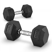 Capital Sports Hexbell Pair of Dumbbells 25 kg