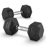 Capital Sports Hexbell 27.5 Pair of Dumbbells 27.5 kg