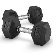 Capital Sports Hexbell Pair of Dumbbells 30 kg