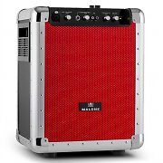 Malone Streetrocker Portable PA System USB SD AUX Bluetooth Red