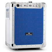 Malone Streetrocker Portable PA System USB SD AUX Bluetooth Blue