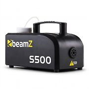 Beamz S500 New Edition 500W Fog Machine 50m³ with 250ml Fog Fluid