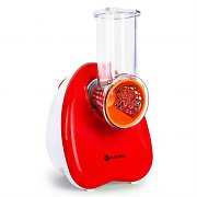Klarstein Electric Food Slicer and Grater 150W Red