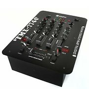 Skytec 3-Channel DJ Mixer Beat Counter Battle Mixer