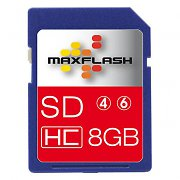 8 GB Class 6 SDHC Memory Card 4MB/s from Easypix
