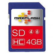 4 GB Class 6 SDHC Memory Card 4MB/s from Easypix
