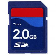 2GB Highspeed SD Memory Card
