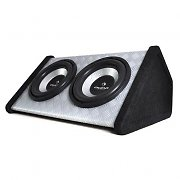 "Auna twin 12"" Car Subwoofer Bass Box 2000 watts"