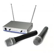Auna FU-2-S Wireless Microphone System 2 MICS VHF 100M
