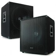 "Skytec 15"" Subwoofer 1200 Watt Pair with Low Pass Filter"