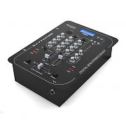 Ibiza 7744 2 Channel USB DJ Mixer Beat Counter MP3