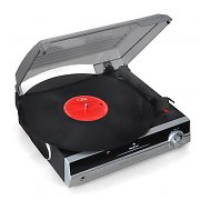 Auna TBA-298 Turntable Vinyl Record Player with Built In Speakers