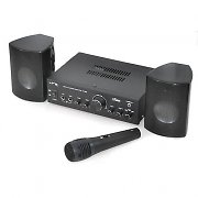 LTC Karaoke-Star1 Compact Amplifier, PA Speaker and Microphone System 40W