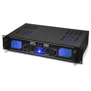 Skytec SPL1000 Watt DJ PA Amplifier EQ Hi-Fi Audio Amp